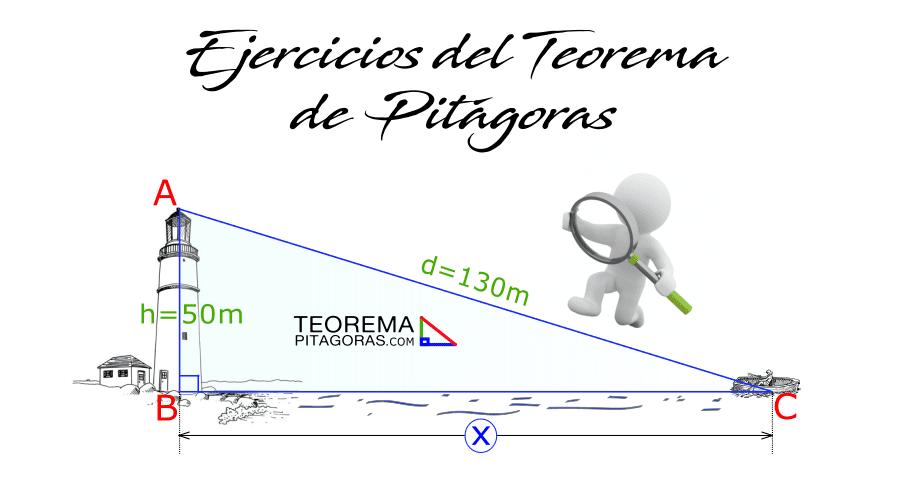 Teorema de Pitágoras Ejercicios