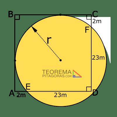 Probema 01 del teorema de pitágoras